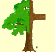 tree/cross logo